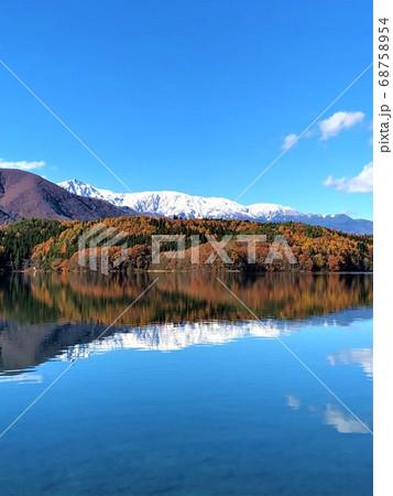 長野県 青木湖 68758954