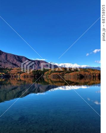長野県 青木湖 68758955