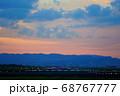 【大阪府】ライトアップされた伊丹空港の滑走路 68767777