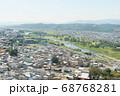 群馬県高崎市の街並み 68768281