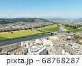 群馬県高崎市の街並み 68768287