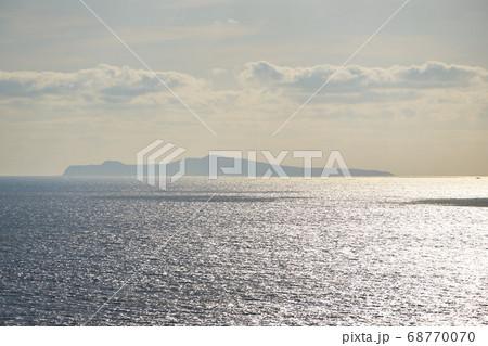 鹿児島県 佐多岬からの竹島 68770070