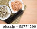 煮干し 鰹節 昆布 68774299