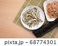 煮干し 鰹節 昆布 68774301