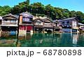 京都 伊根の舟屋 68780898