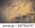 夕焼け空模様  急変した夕焼け空 68784297