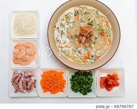お粥 料理 ニンジン 68796767