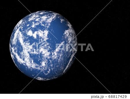 地球CG perming3DCG イラスト素材 68817429