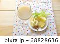 乳清と甘酒とバナナのスムージー 68828636
