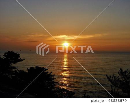 北茨城・五浦海岸~美しく神秘的な『太陽の光の道』(5) 68828679