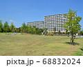 公営住宅と公園 足立区江北にて 68832024