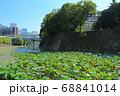 北の丸公園・清水濠と竹橋のオフィス街 68841014