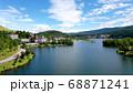 白樺湖のドローン映像 68871241