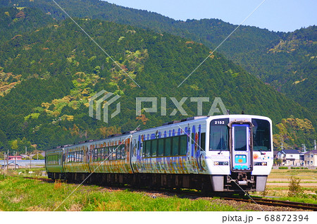 宇和海アンパンマン列車 予讃線:双岩~伊予石城 68872394