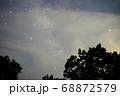 薄雲の中の夏の星座 68872579