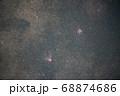 オメガ星雲とワシ星雲 68874686