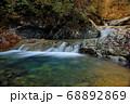 秋の西沢渓谷・人面洞 68892869