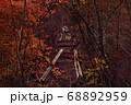 秋の西沢渓谷・廃吊橋 68892959