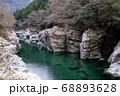 祖谷渓 徳島 渓谷 渓流 68893628
