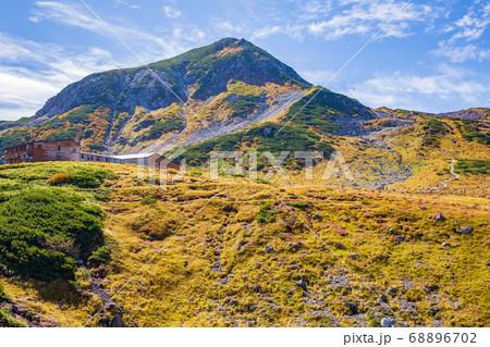 初秋の立山黒部アルペンルート66 紅葉の室堂平 68896702