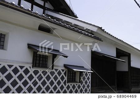 北国街道坂城町 長屋門の旧家 68904469
