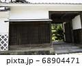 北国街道坂城町 長屋門の旧家 68904471