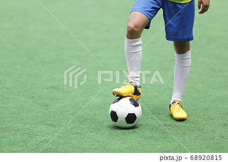 サッカー選手 68920815