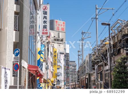 駅前風景 神田駅 68932299