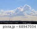 青空とスカイツリーと入道雲 68947034