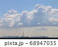 青空とスカイツリーと入道雲 68947035