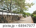 九州の小京都飫肥の城下町 武家屋敷通り 68947077