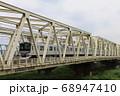 荒川鉄橋のつくばエクスプレスTX-2000系 68947410