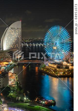 【神奈川県】夜のみなとみらい(8月) 68951073