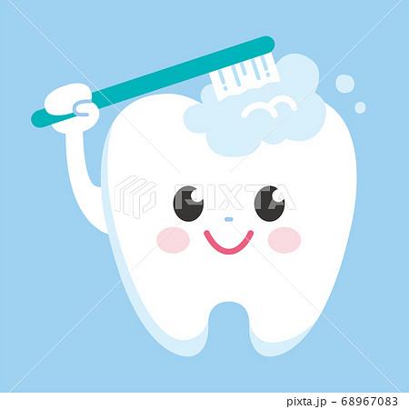歯 キャラクター 歯磨き 68967083