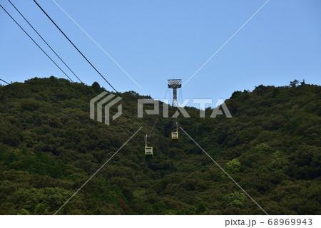 日本の兵庫県姫路市のロープウェイ 68969943