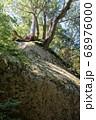 山梨県北杜市の日本百名山の瑞牆山のコースにある岩 68976000