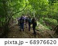 神奈川厚木市の丹沢にある大山の登山者 68976620