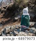 神奈川愛甲郡の丹沢エリアにある塔ノ岳のヤビツ峠ルート上の鳥尾山荘直前の仏像 68979073