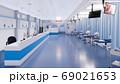 Empty emergency room interior of modern hospital 69021653
