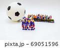 サッカー選手胴上げシーン② 69051596