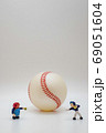 野球ピッチング練習 縦型 69051604