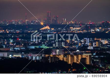 《神奈川県》横浜みなとみらい・遠景夜景 69056904