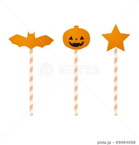 ハロウィン用のキャンディ 69064098