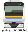 ドット絵風のE233系(千葉/房総ローカル線) 69084342