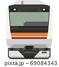 ドット絵風のE233系(武蔵野線) 69084343