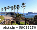 日南市 日向灘の風景 69086250