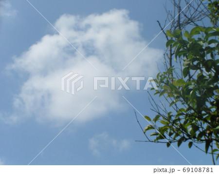 青空と白い雲 69108781