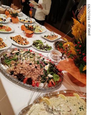 大使館パーティでのアイルランド料理 69132765