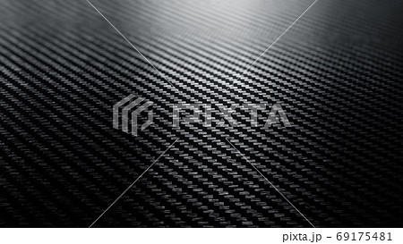 Carbon fiber black pattern background 69175481