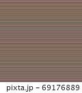 1色7ピクセル幅で作成した7色虹色の横線画像 69176889
